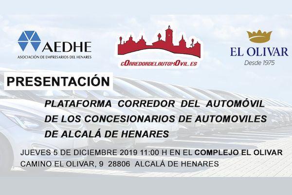 Presentación de la Plataforma Corredor del Automóvil en Finca El Olivar