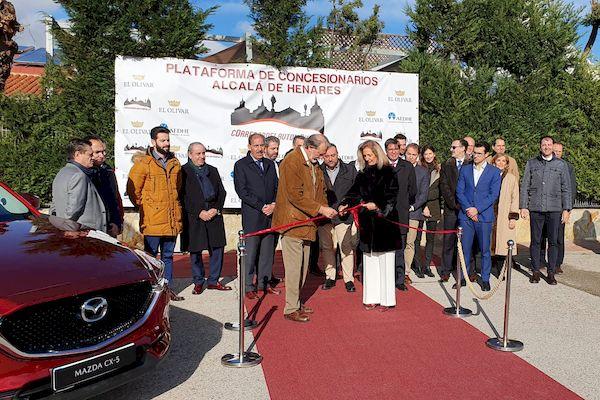 Presentación de la plataforma Corredor del Automóvil de los concesionarios de automóviles de Alcalá de Henares
